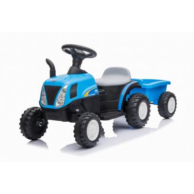 Детский электромобиль трактор с прицепом Jiajia 8220219B-T7