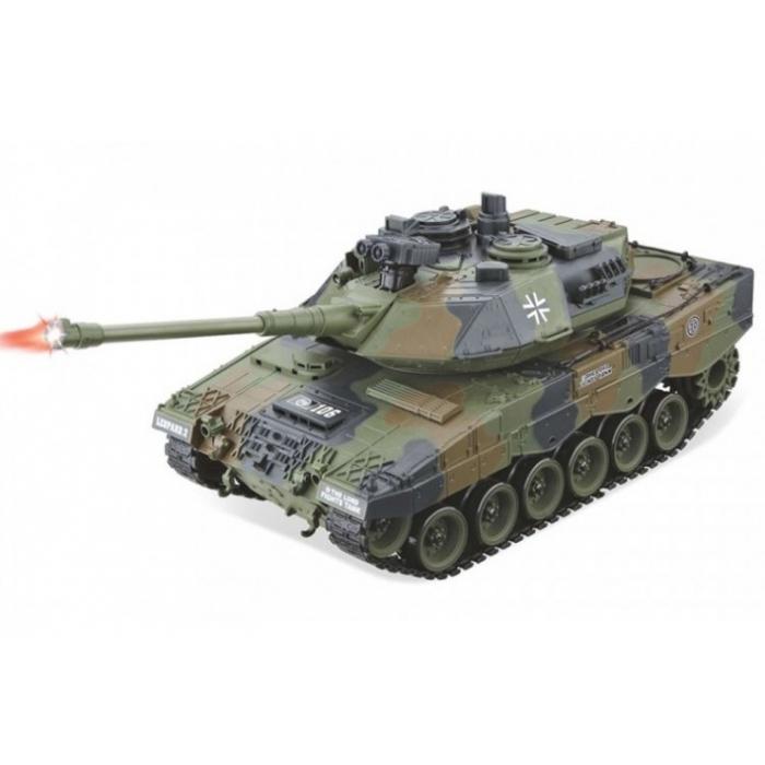 Радиоуправляемый танк German Leopard 2 масштаб 1:20 27Мгц
