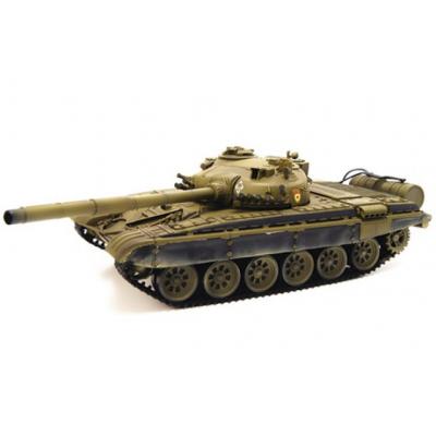 Радиоуправляемый танк Airsoft Series Russia T72-M1 Green масштаб 1:24 2.4G
