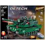 Конструктор Double E Cada Technics, Танк M1A2, 1498 деталей, пульт управления - C61001W