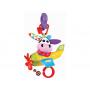 Игрушка мягкая музыкальная Yookidoo Коровка в самолете