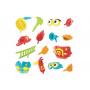 Игрушка водная Утка-пожарный с водометом и аксессуарами