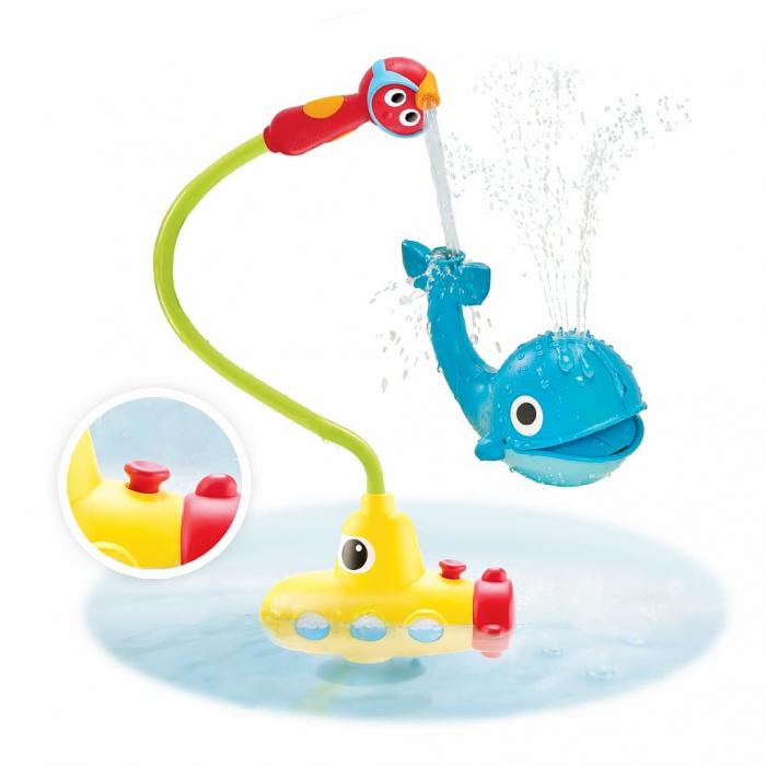 Игрушка водная Подводная лодка и Кит