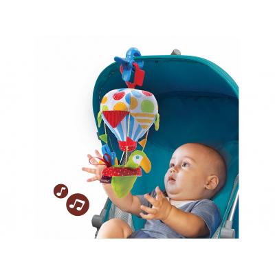 Игровой набор Yookidoo Попугай на воздушном шаре погремушка и прорезыватель