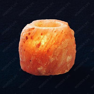 Подсвечник солевой около 1 кг в подарочной коробке