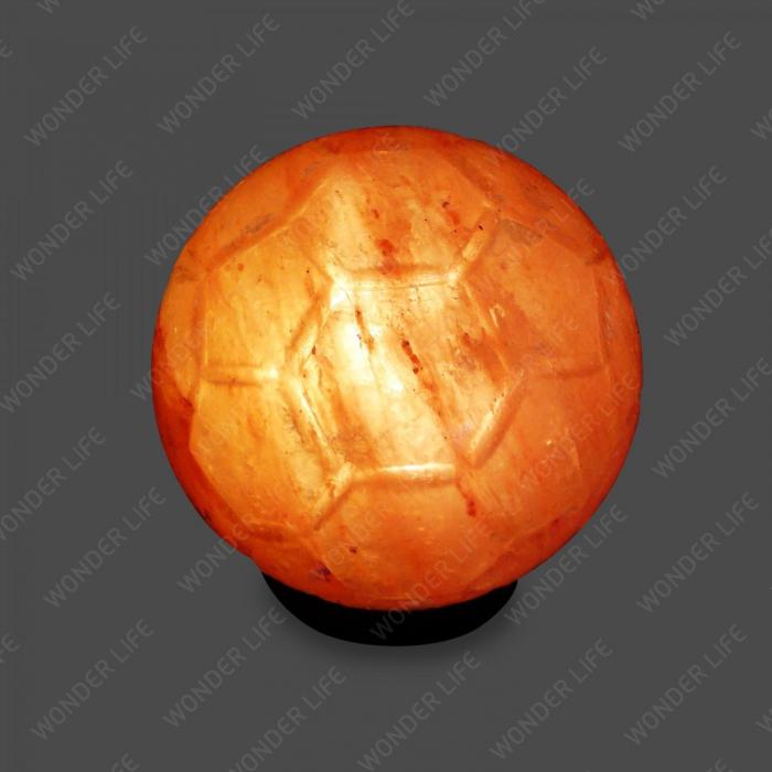 Соляная лампа Футбол 2-3 кг