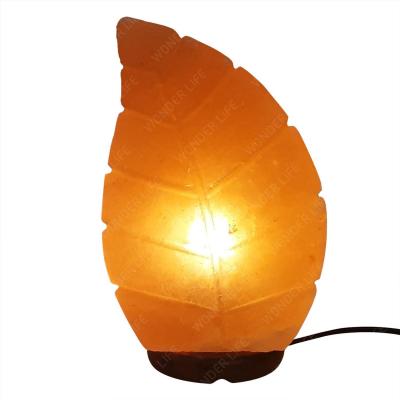 Соляная лампа Лист 2-3 кг