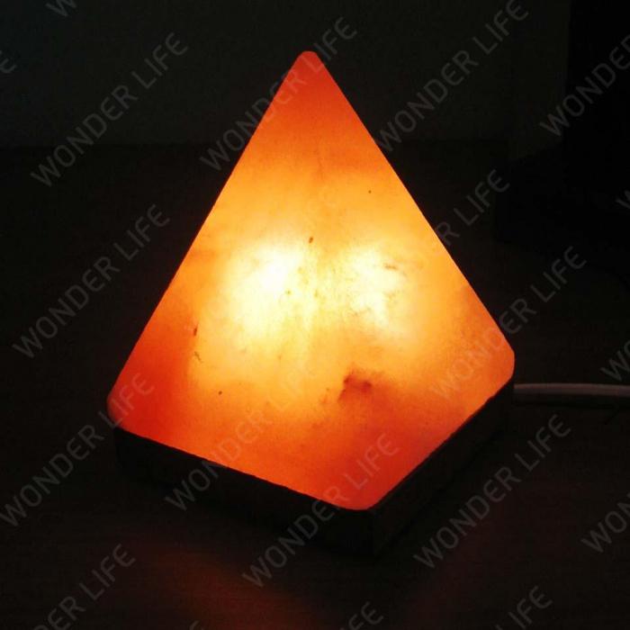 Солевая лампа Пирамида 2-3 кг