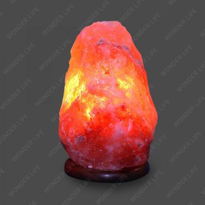 Солевая лампа Скала 26-35 кг Премиум соль красного оттенка