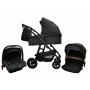 Коляска для новорожденных Bubago Voyage 3 в 1 с надувными колесами