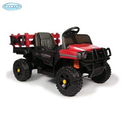 Грузовик с кузовом Barty TR 999 красный