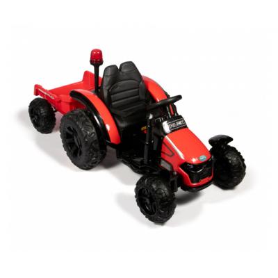 Трактор с прицепом Barty TR 99 красный