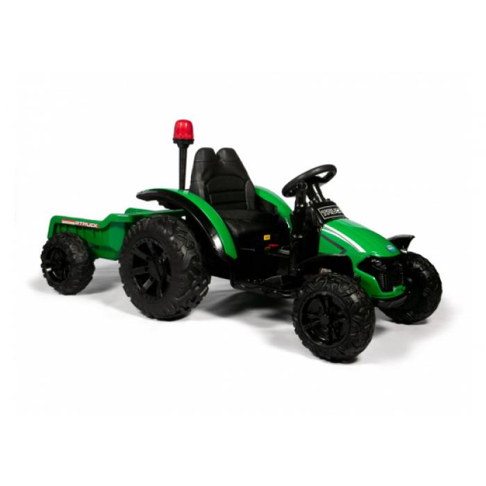Трактор с прицепом Barty TR 99 зеленый
