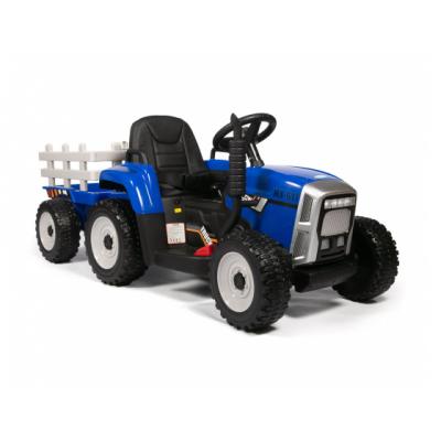 Трактор с прицепом Barty TR 77 синий