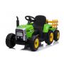 Трактор с прицепом Barty TR 77 зеленый