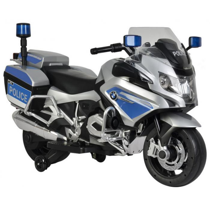 Детский мотобайк BartyBMW PoliceMotоbaike серый