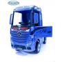 Детский электромобиль Barty Mercedes-Benz Actros синий