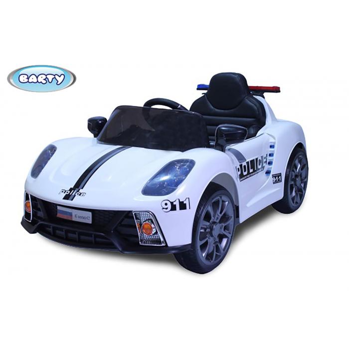 Электромобиль Barty Porsche 911 Police белый