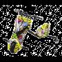 Электроскутер Дрифт Карт Drift-Trike MiniPro Mi T01 - Хип-хоп/Желтый граффити