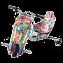 Электроскутер Дрифт Карт Drift-Trike MiniPro Mi T01 - Оранжевый граффити