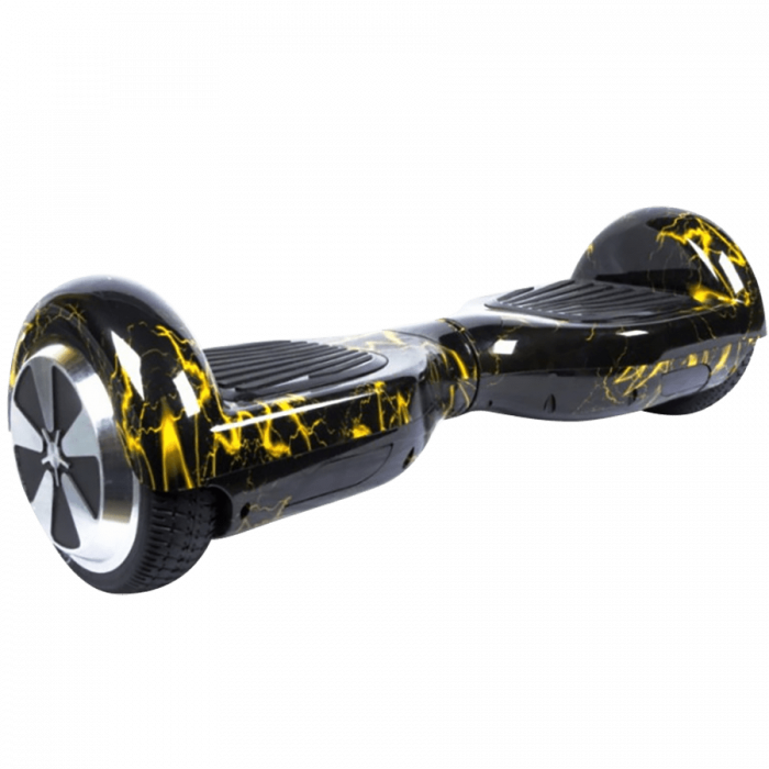 Гироскутер MiniPro 6.5 APP - Желтая молния