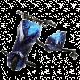 Электроскутер Дрифт Карт Drift-Trike (Drift Car) — Синий космос