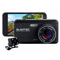 Автомобильный Full HD видеорегистратор с двумя камерами Slimtec Dual S2L