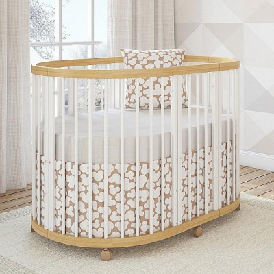 Кроватка овальная Giovanni Shapito TreeO 120х90